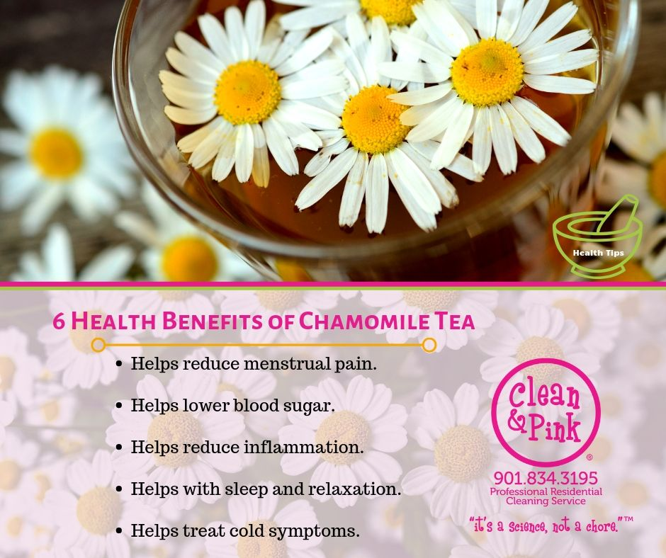 Health benefits of chamomile tea health tips tea