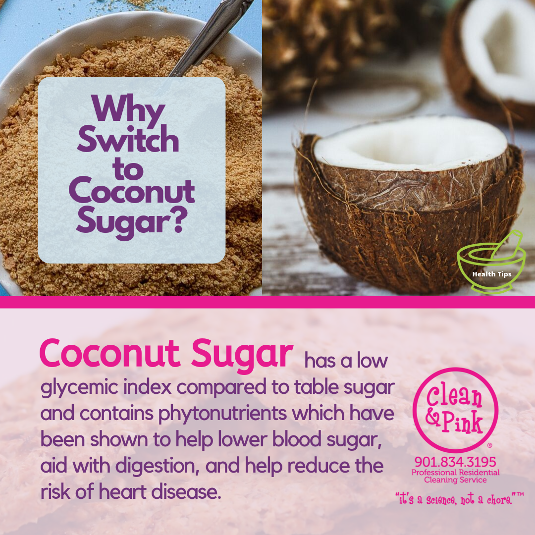 Why switch to coconut sugar?