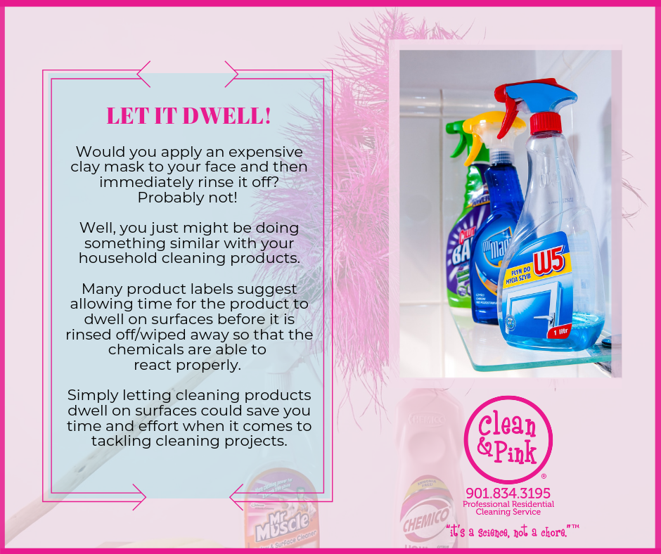 Let Cleaning Agents Dwell Residential Cleaning