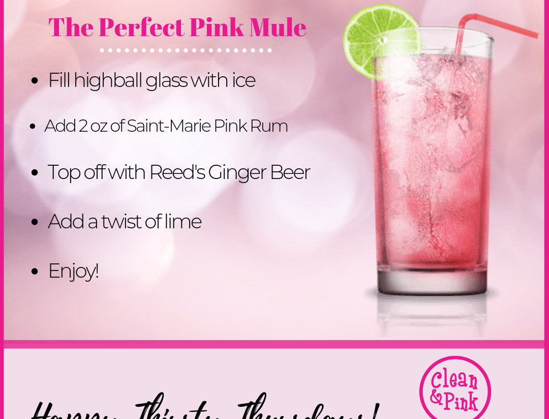 The Perfect Pink Mule Residential Cleaning Clean & Pink