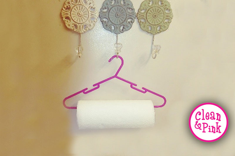 Paper Towel and Coat Hanger - Memphis Cleaning Service