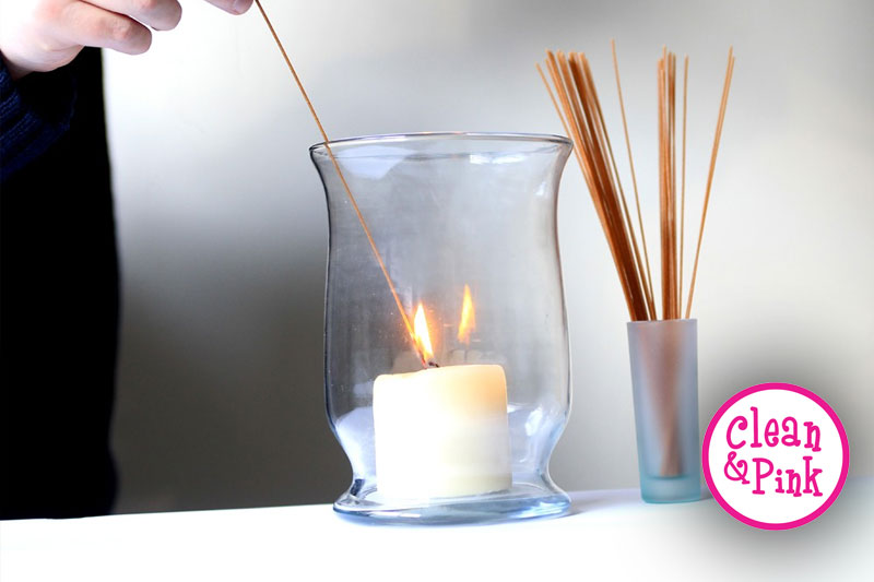 Spaghetti Candle Lighting Tip - Memphis Cleaning Service