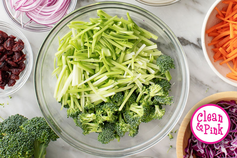Broccoli Slaw Recipe - Memphis Cleaning Service